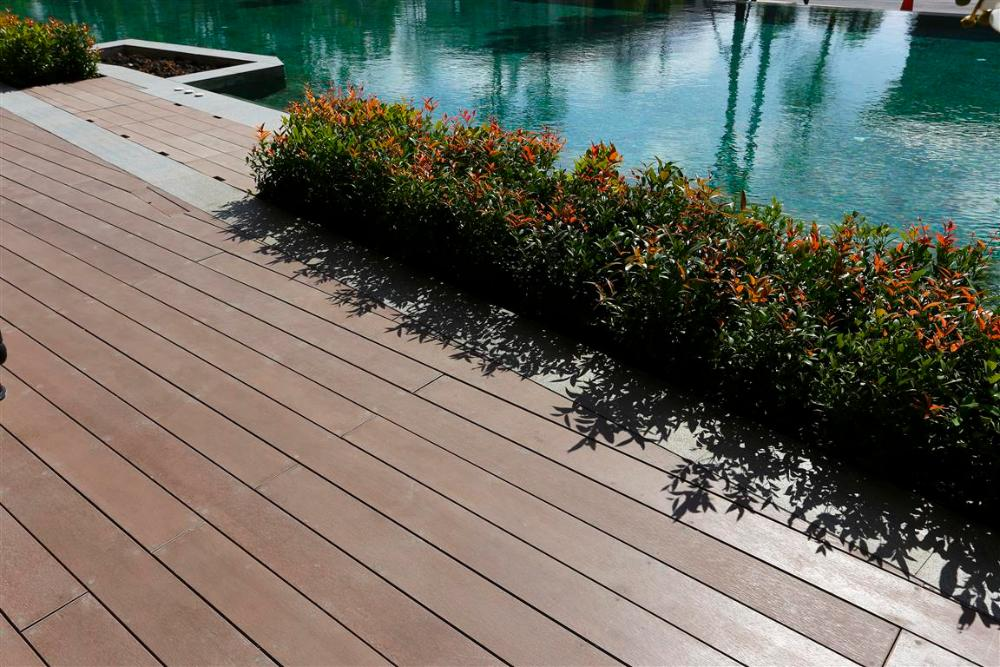 SHERA Decking for exterior decking applications