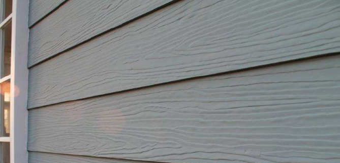 SHERA Planks used for external siding, installed in overlap style