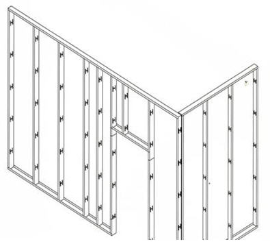 SHERA boards offer rapid installation and can be fixed to a variety of building frames