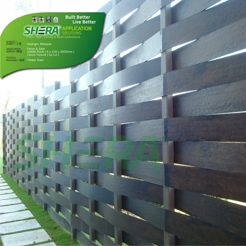 SHERA Fence is perfect for gardens, parks and public spaces