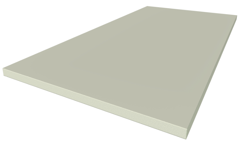 SHERA board square cut edge for exterior and interior wall solutions