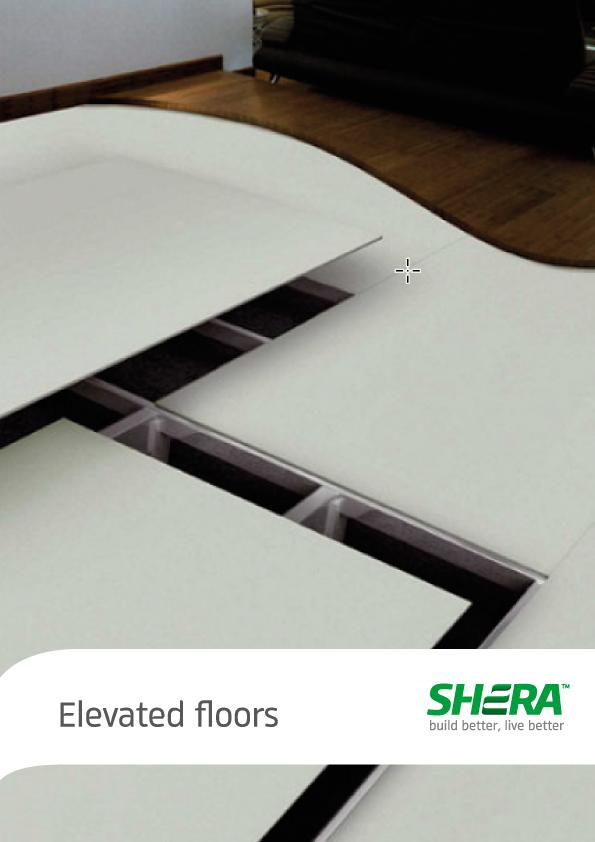 SHERA Floor Board fibre cement boards for raised floor solutions