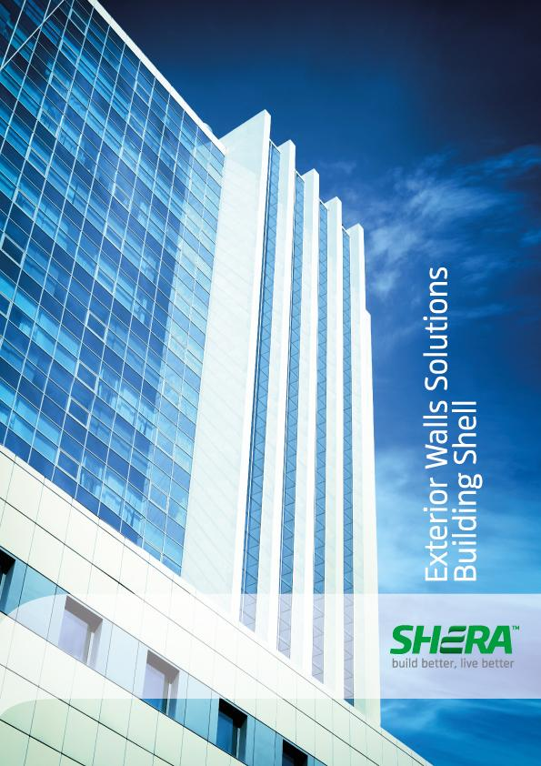 SHERA fibre cement board for exterior wall solutions
