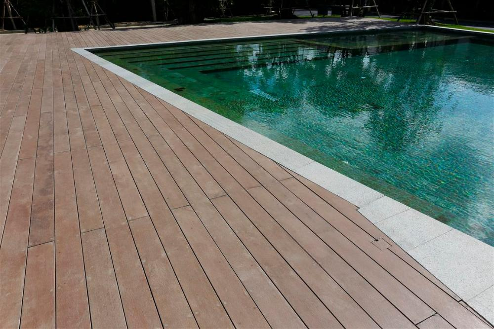 SHERA floor planks are ideal for decking applications
