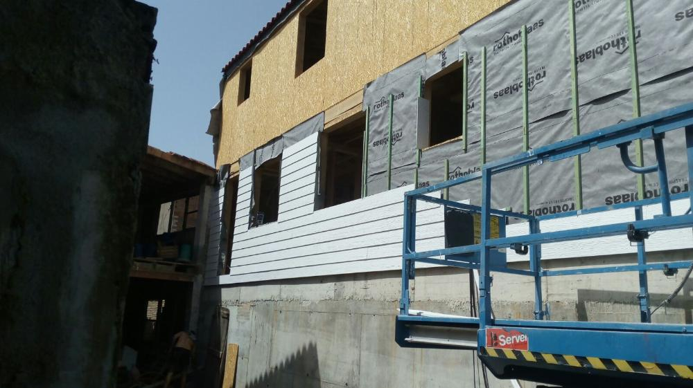 SHERA plank for exterior siding